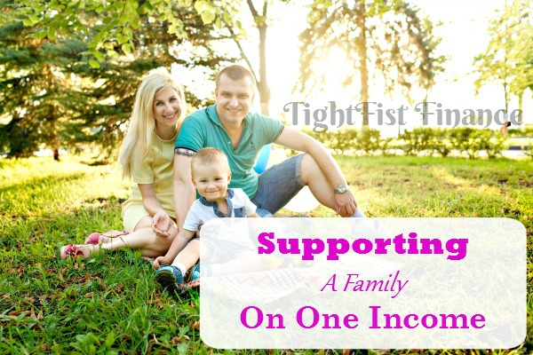 two incomes to one, single income