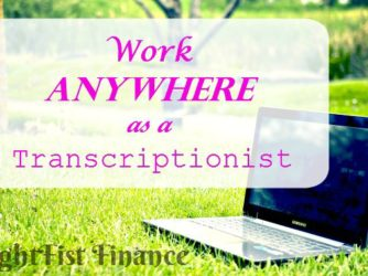 Work From Home as a Transcriptionist