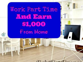 Earn $1,000 From Home Per Month With These Part-Time Jobs