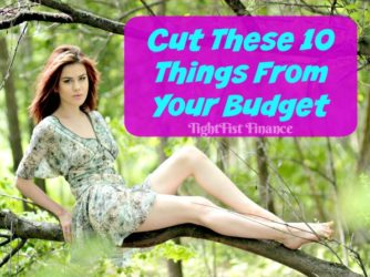 10 Things to Cut From Your Budget