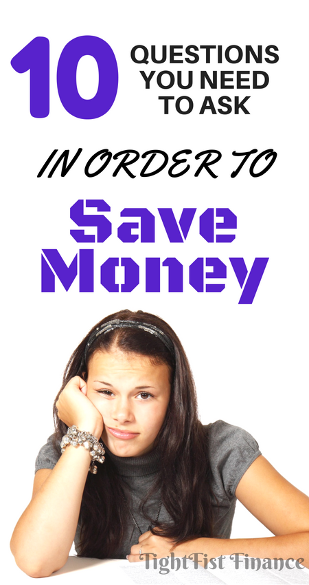 The 10 questions you need to ask yourself if you want to save more money and pay off debt or build wealth. Are you struggling to save money? This article is full of tips to help you change your financial habits and start saving money.