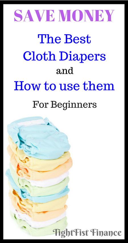 Cloth diapers are one of the best money saving tips for a growing family on a budget. This article is all about how to use a cloth diaper and which cloth diapers are the best. The Pros and Cons of using cloth vs disposable diapers might surprise you!