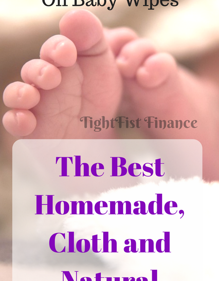Save money on baby wipes. The best homemade, cloth, and natural options