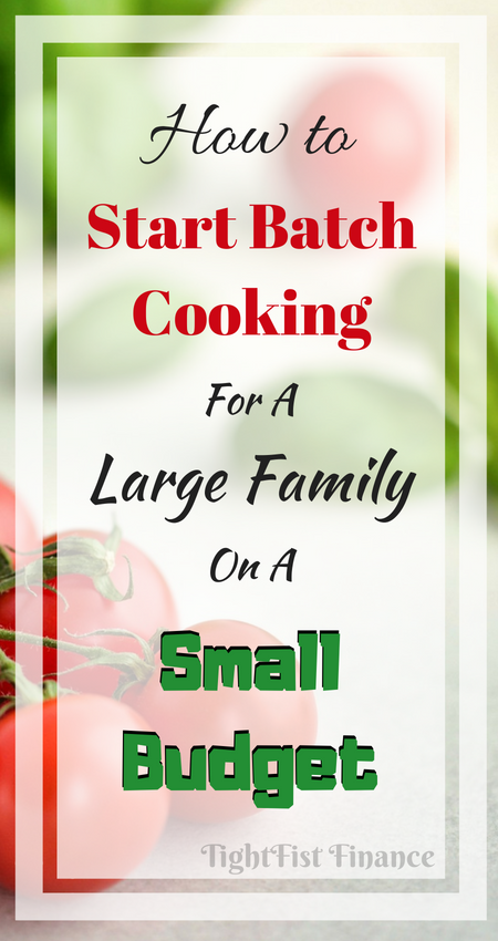 Batch cooking is the perfect way to start eating healthy on a small budget. Batch cooking will help with your time management and help feed your family through simple meal prep. After cooking your recipes, meals stay good in your freezer which is going to save you money. Batch cooking can fit a wide variety of diets!