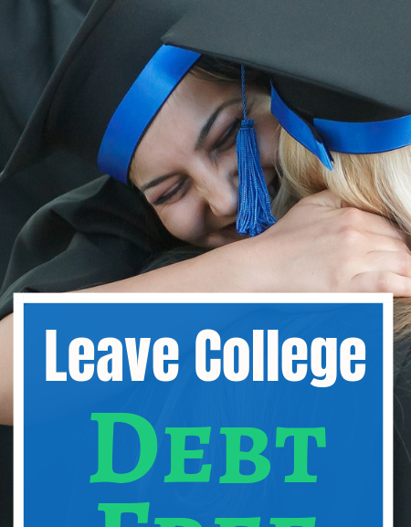 How to pay for college on your own with no money and leave debt free