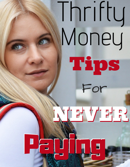 Never pay full price again with these thrifty money tips!