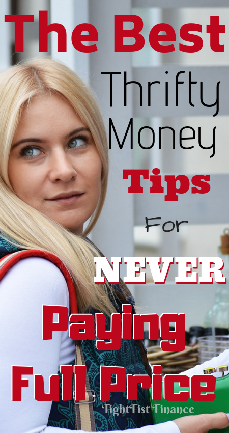 Do you want to never pay full price again? These are the best money saving tips to avoid full price merchandise! You must see how much money you can save!