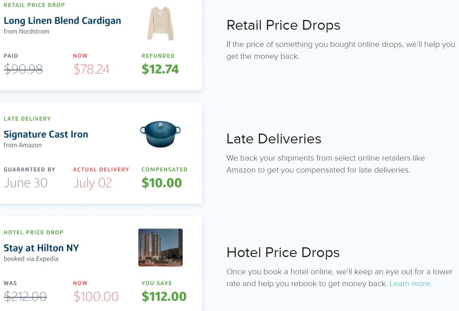 paribus helps you never pay full price