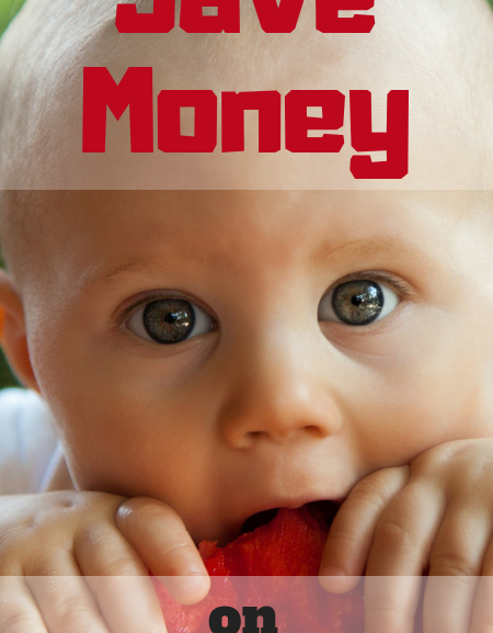 Frugal tips to buying and making baby food cheap