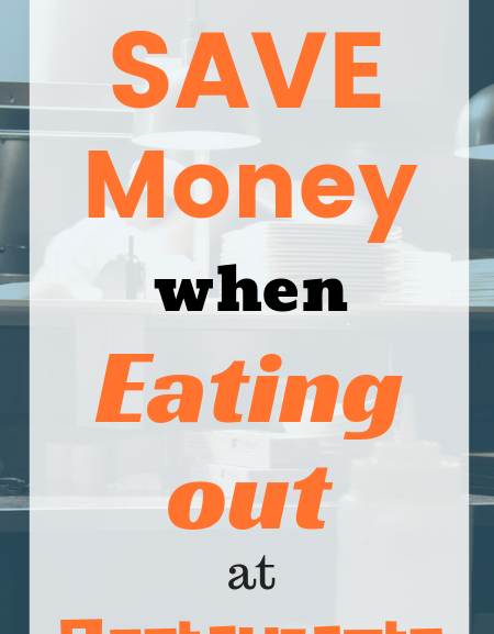 How to eat out at restaurants for cheap when you're on a tight budget