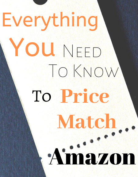 Everything you need to know to price match Amazon