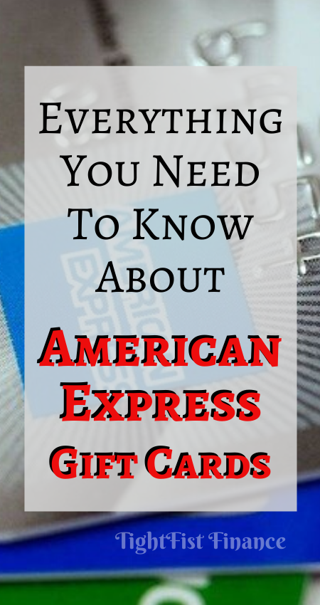 Everything You Need to Know about American Express Gift Cards