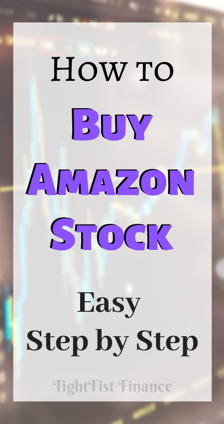 How to Buy Amazon Stock (Easy Step By Step)