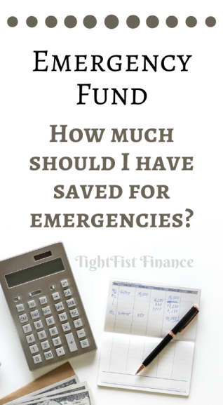Emergency fund amount: How much should I have saved for emergencies?