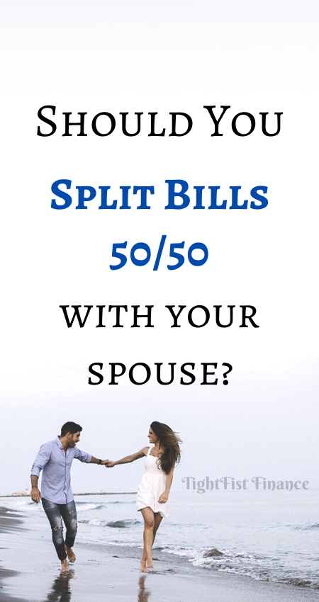 Should you split bills 50_50 with your spouse or partner