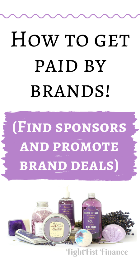 How to get paid by brands! (Find sponsors and promote brand deals)
