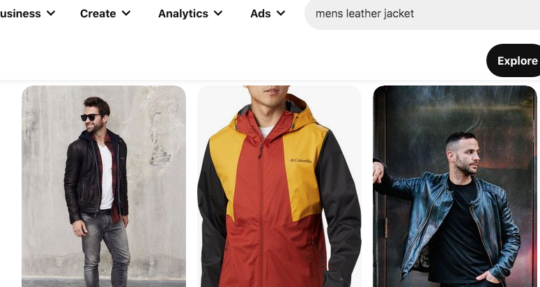 Mens leather jackets on Pinterest