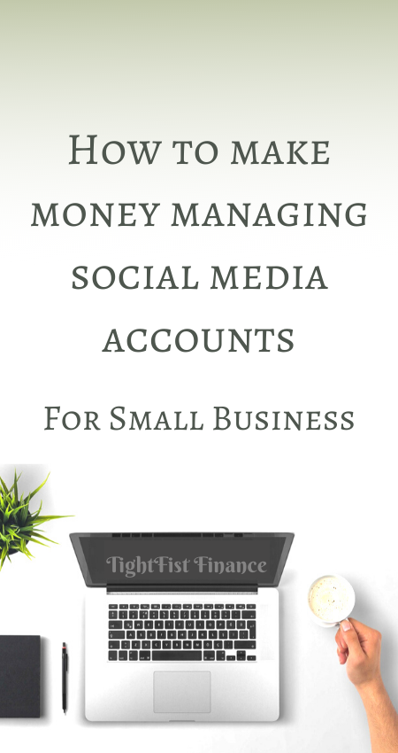 How to make money managing social media accounts for small business
