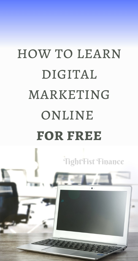How to learn digital marketing online for free