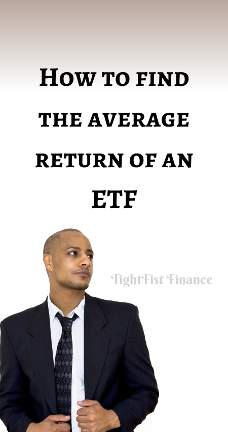 20-105 - How to find the average return of an ETF