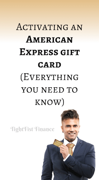Activating an American Express gift card (Everything you need to know)