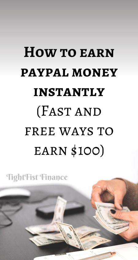 21-028 - How to earn paypal money instantly (Fast and free ways to earn $100)