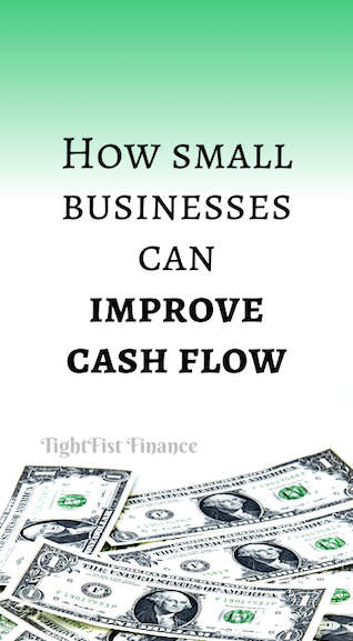 How small businesses can improve cash flow