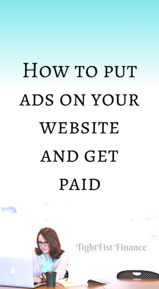How to put ads on your website and get paid