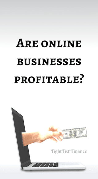 Are online businesses profitable?