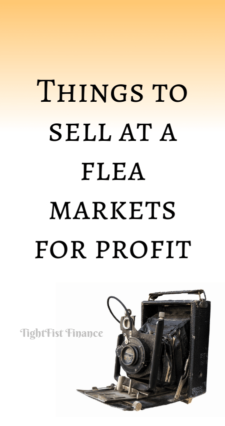 21-053 - Things to sell at a flea markets for profit