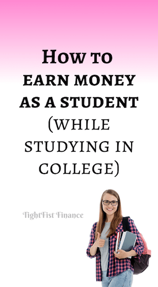 How to earn money as a student (while studying in college)