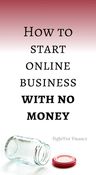 How to start online business with no money