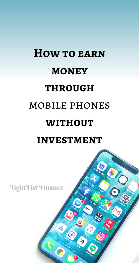 21-061 - How to earn money through mobile phones without investment