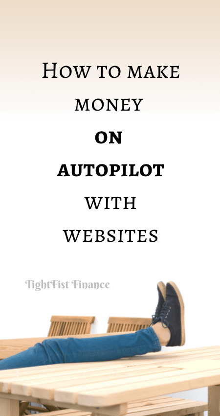 21-069 - How to make money on autopilot with websites