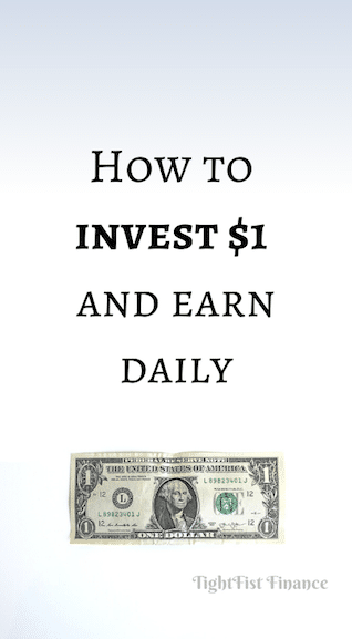 How to invest $1 and earn daily