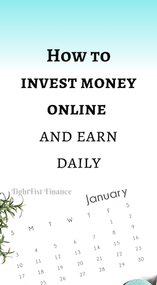 How to invest money online and earn daily