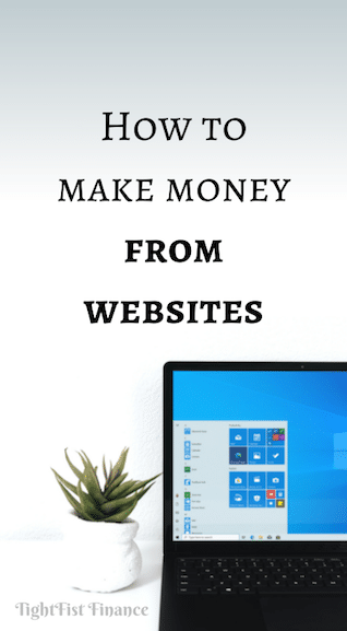 How to make money from websites