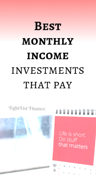 Best monthly income investments that pay