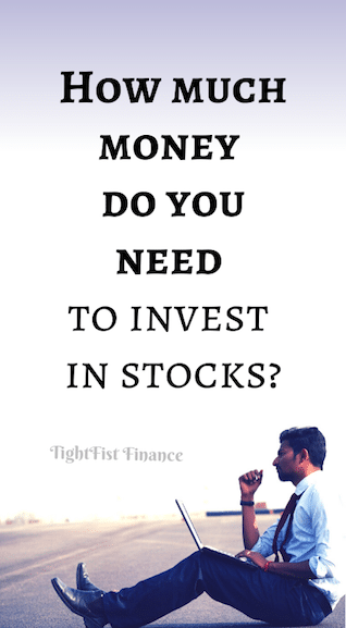 How much money do you need to invest in stocks?