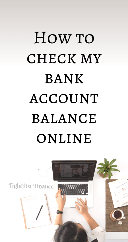 21-093 - How to check my bank account balance online
