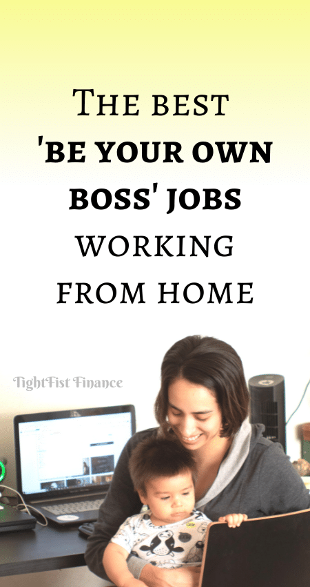 21-099 - The best 'be your own boss' jobs working from home