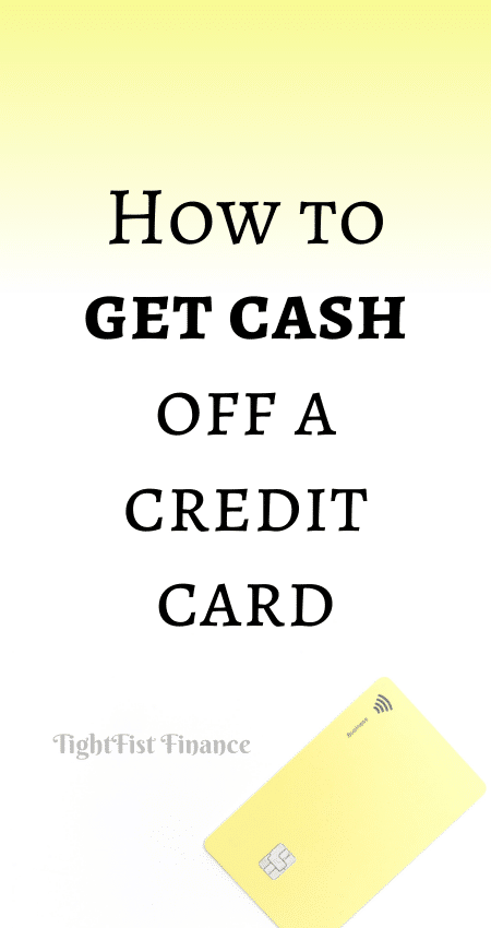 21-100 - How to get cash off a credit card