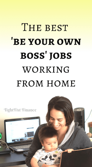 The best 'be your own boss' jobs working from home