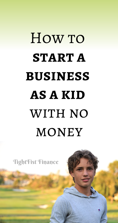 21-111 - How to start a business as a kid with no money