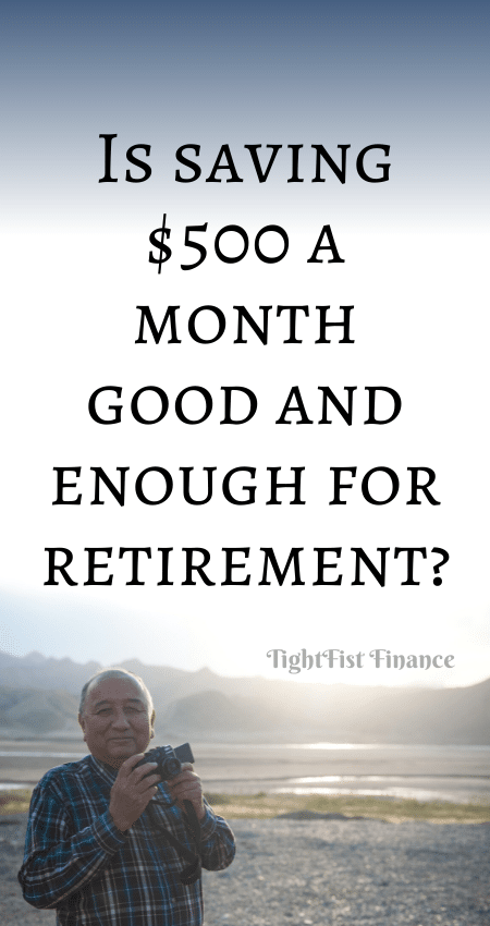 21-123 - Is saving $500 a month good and enough for retirement