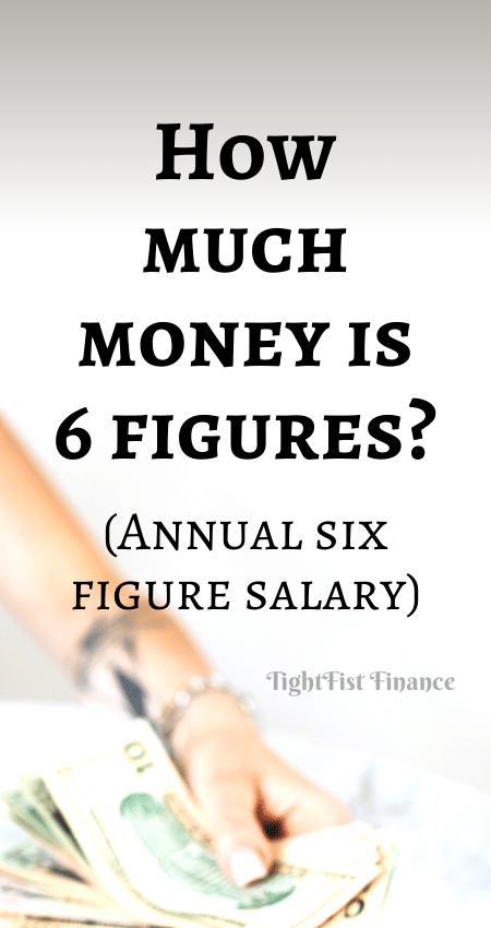 21-126 - How much money is 6 figures (Annual six figure salary)