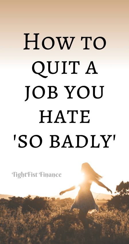 21-129 - How to quit a job you hate 'so badly'