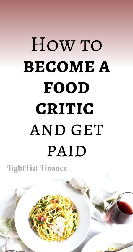 21-146 - How to become a food critic and get paid